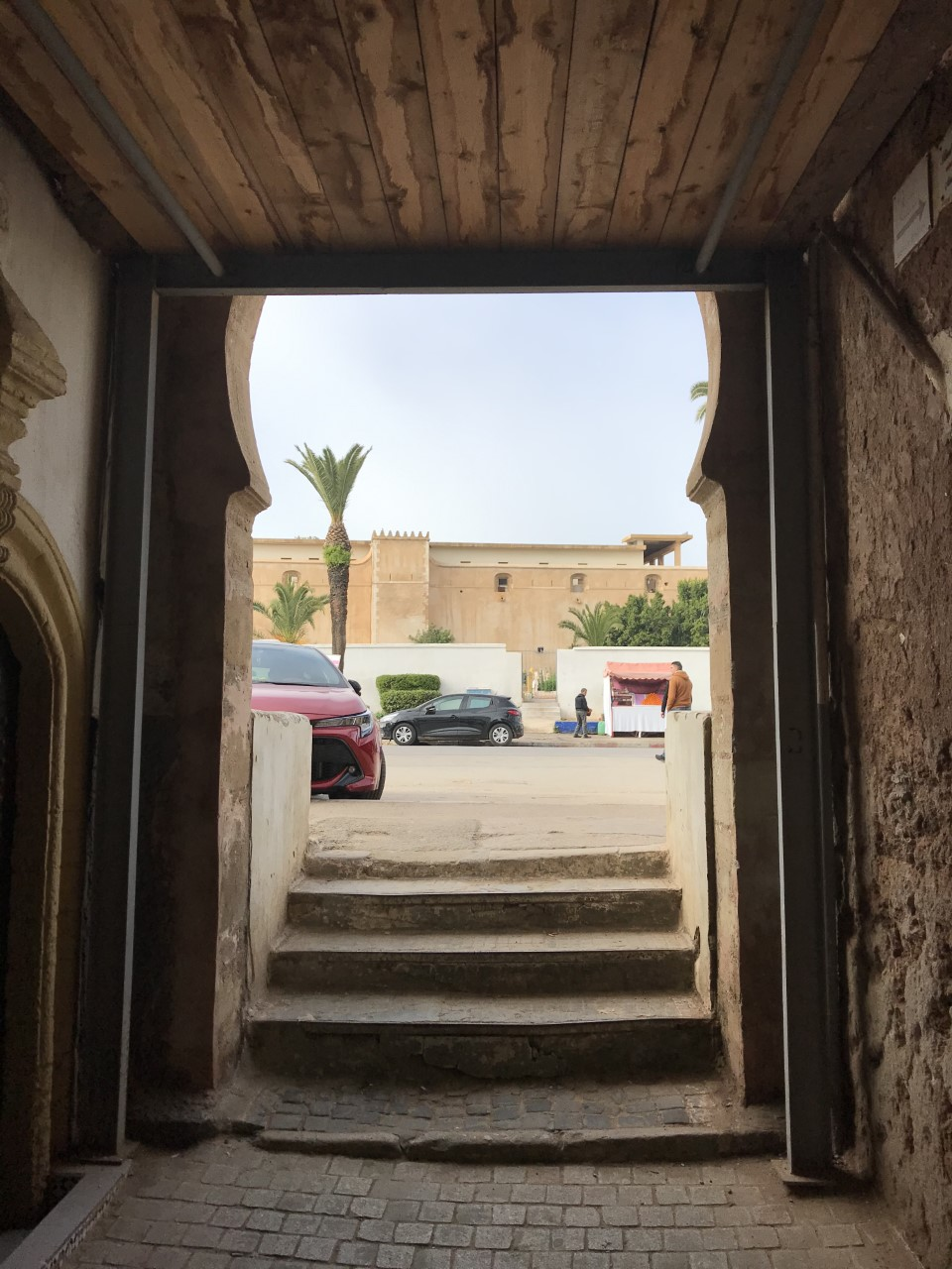 A passageway leading into the Medina of Rabat