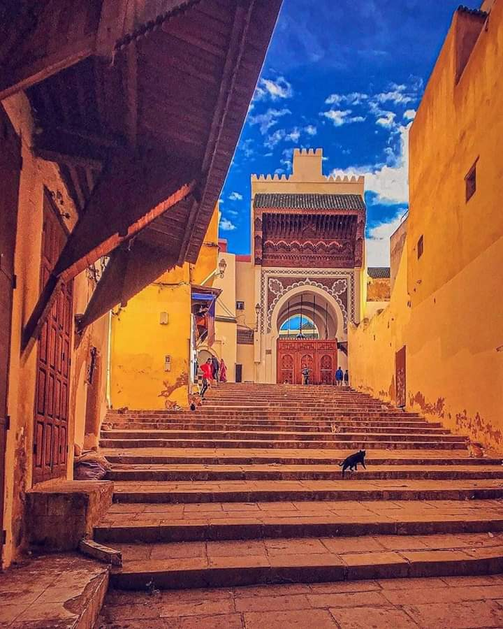 Al-Andalus Mosque of Fes Maryam al-Fihriya's Mark on Moroccan History