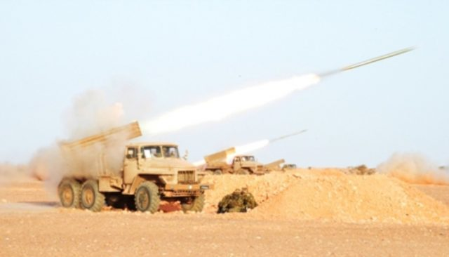 Algerian Military Conducts Live Ammunition Exercise Near Morocco's Border