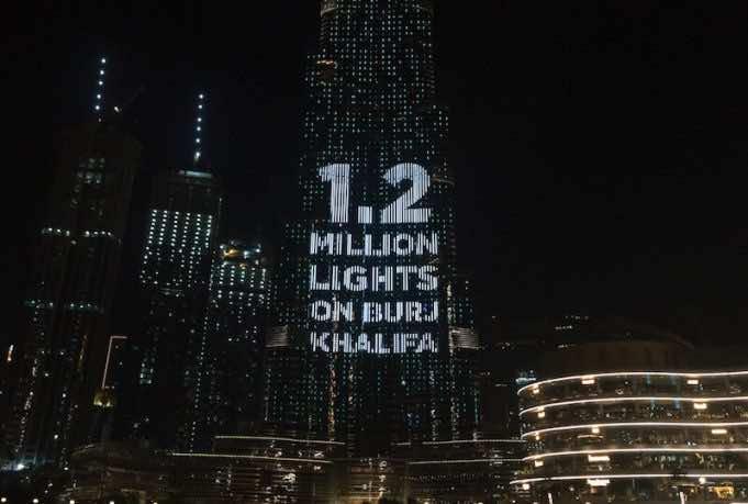 Burj Khalifa Lights Dubai-based Ramadan Solidarity Campaign