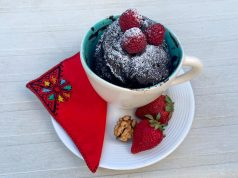 Cooking For the Lazy Chocolate Microwave Mug Cake