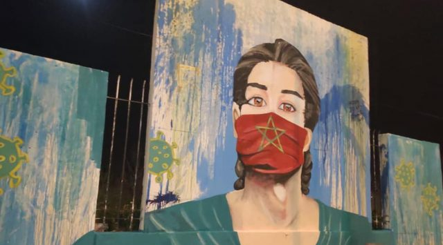 Fez Artists Participate in COVID-19 Fight With Murals