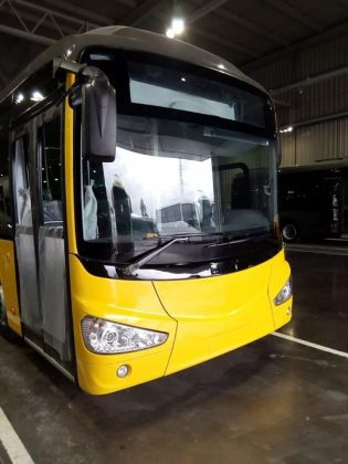 In Photo Casablanca Unveils Design of New Urban Buses