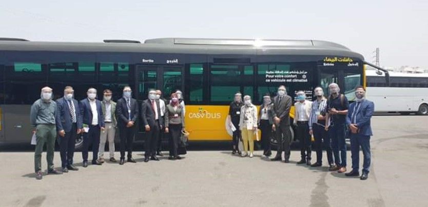In Photos Casablanca Unveils Design of New Urban Bus
