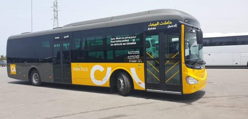 In Photos Casablanca Unveils Design of New Urban Buses