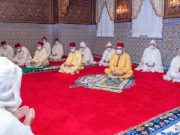 King Mohammed VI Respects Social Distancing During Eid Al Fitr Prayers