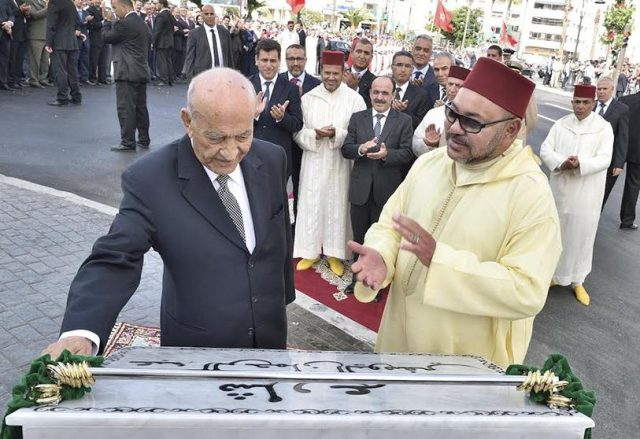 King Mohammed VI Sends Condolences to Abderrahmane Youssoufi's Widow