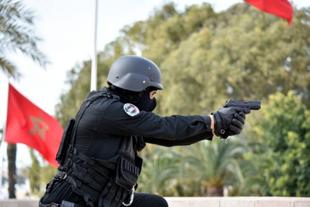 Meknes Police Use Weapons to Arrest Suspects in Two Separate Incidents