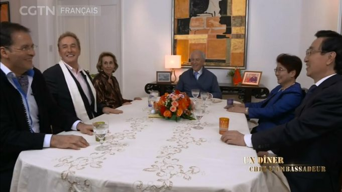 Moroccan Ambassador Televises Diplomatic Dinner for Chinese Viewers