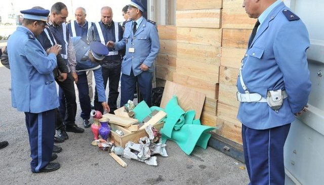 Moroccan Customs Conducts 3 Drug Seizure Operations in 1 Week