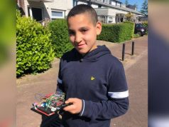 Moroccan-Dutch Child Develops Social Distancing Device