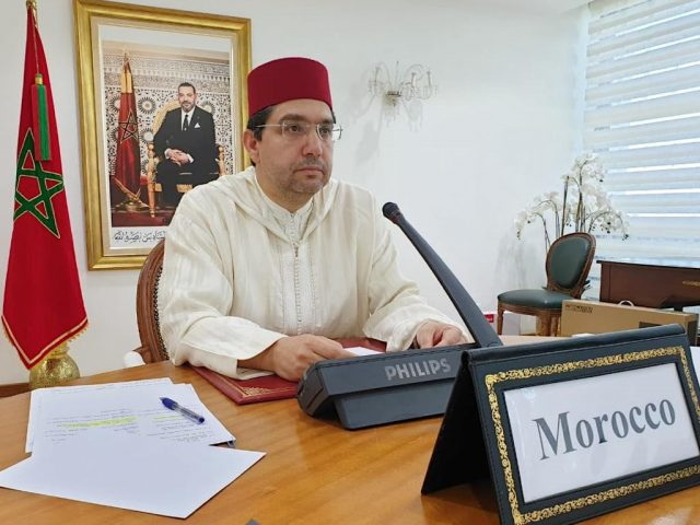 Moroccan FM Algeria Spends Resources on Separatism Rather Than COVID-19