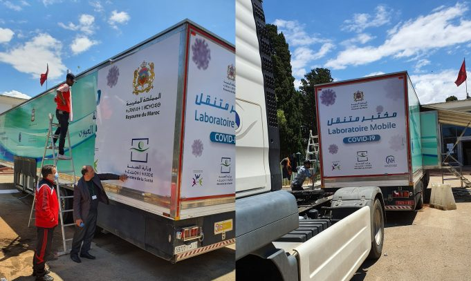 Morocco Sends Mobile Labs for COVID-19 Testing Into Rural Areas