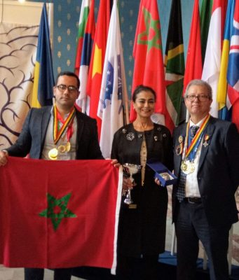 Morocco Wins 3 Gold Medals, Knight Order at Romania's Euroinvent 2020