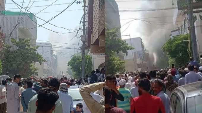 Pakistani Flight PK 303 Crashes Into Homes in Karachi, 107 Onboard