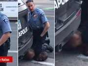 Police officer Derek Chauvin, captured on video kneeling on the neck of George Floyd