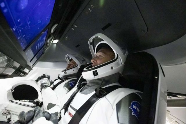 SpaceX's 'Crew Dragon' Nears Space Station After Successful Launch