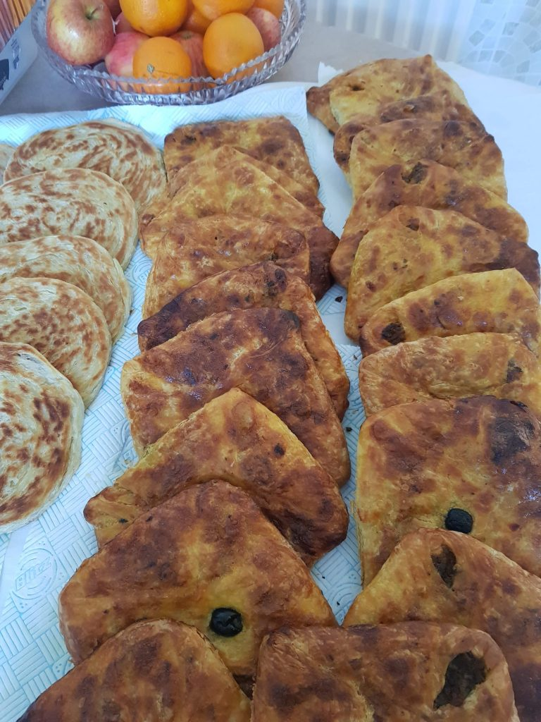 Traditional Ramadan pastries cooked in London