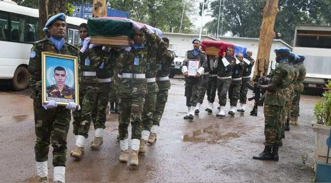 UN Awards Dag Hammarskjold Medal to Late Moroccan MINUSCA Peacekeeper