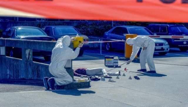 Fingerprints of Thief Match 2009 Marrakech Murder Scene