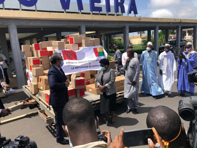 AU States Thank Morocco for Medical Aid Shipments