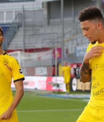 Achraf Hakimi, Fellow Footballers Call for 'Justice for George Floyd'