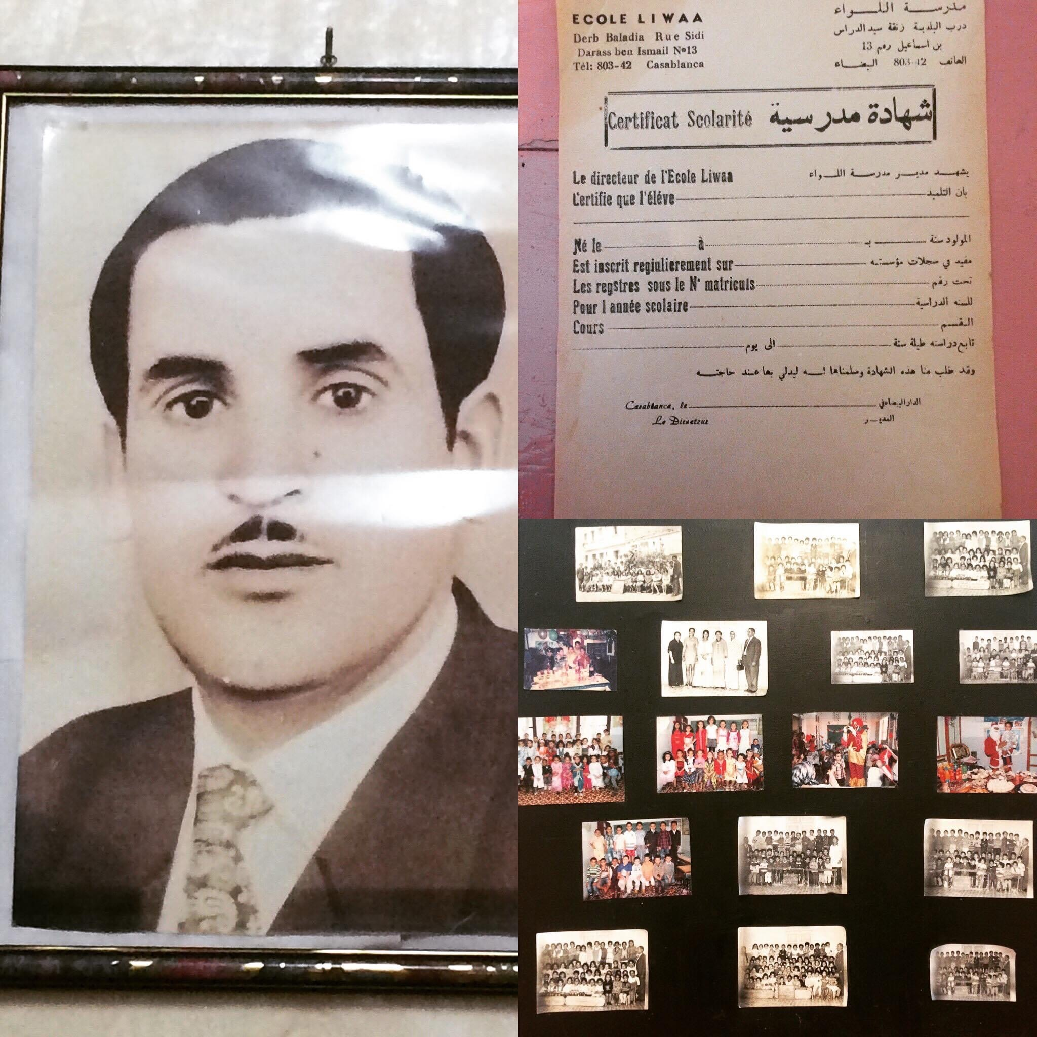 Ahmed Al-Damoudi passed on the school to his grandson Mounir