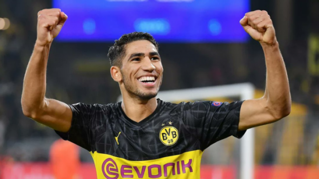 Borussia Dortmund; Achraf Hakimi Will Return to Real Madrid For Now