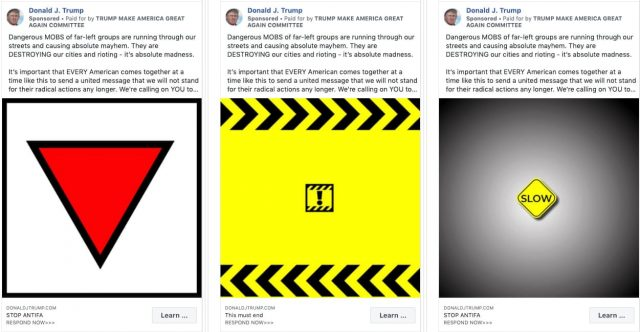 Facebook Removes Trump's Campaign Ads for Spouting Hate