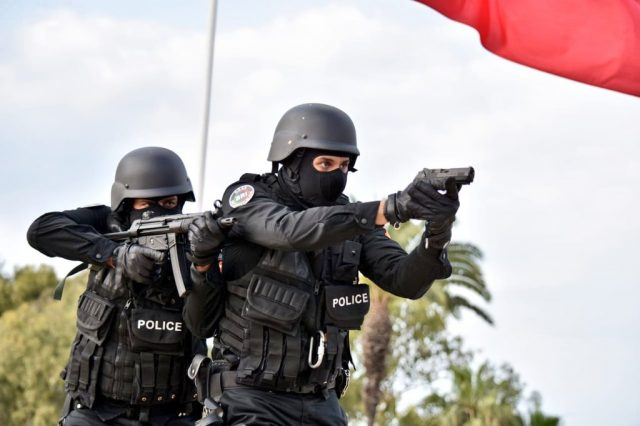 Following Recent Pattern, Moroccan Policeman Brandishes Service Weapon