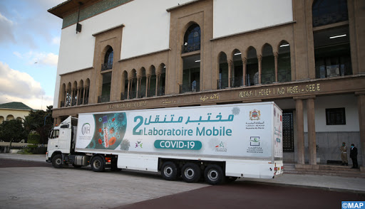 Health Ministry Deploys Mobile COVID-19 Testing Lab in Casablanca