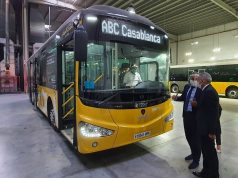 Minister of Industry Examines Assembly of Casablanca's New Bus Fleet