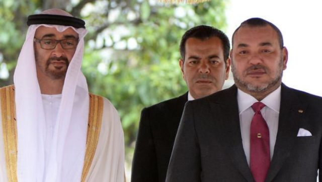 Mohamed bin Zayed Phones King Mohammed VI to Wish a Speedy Recovery