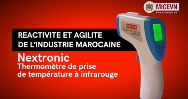 Moroccan Startup Produces First 100% Moroccan Infrared Thermometer