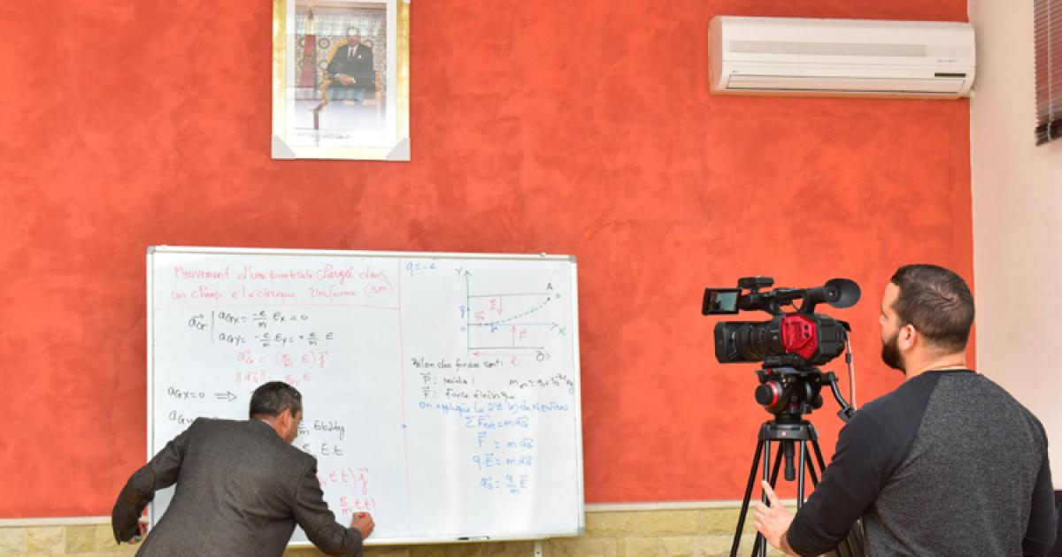 Moroccan TV Channel Al Oula Airs Classes for Special Needs Students