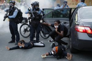 Police Brutality Sparks Concern in UK Over Tear Gas Exports to US