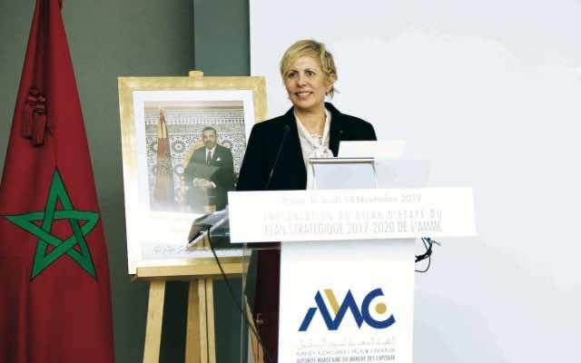 The head of AMMC, Nezha Hayat