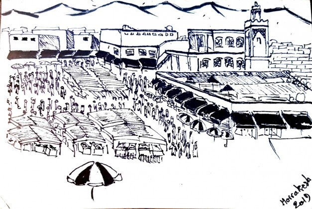 In Pictures: Badr Allouche Sketches Morocco's Cultural Diversity