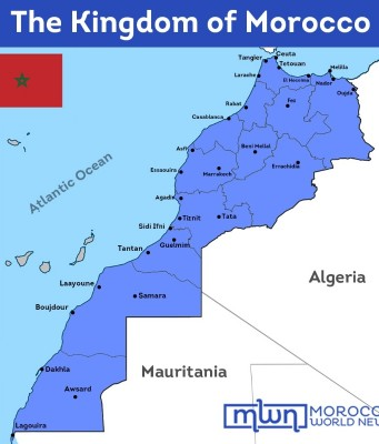 Facts About the Map of Morocco