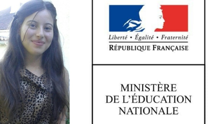 Ilham El Khallouki Earns #1 Baccalaureate Score in France