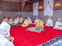 King Mohammed VI Performs Eid Al Adha Prayer