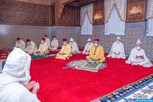 King Mohammed VI Performs Eid Al Adha Prayer