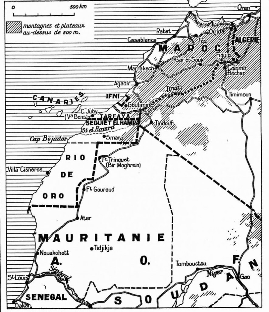 Colonialism and Conflict: Facts About the Map of Morocco