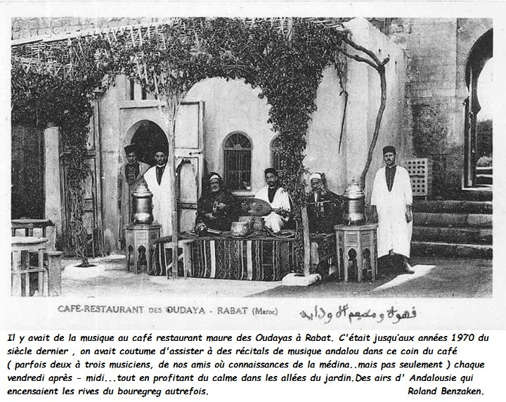 Moorish Cafe in Rabat