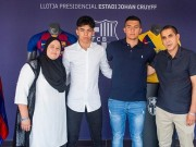 Moroccan Football Prodigy Signs Professional Contract With FC Barcelona