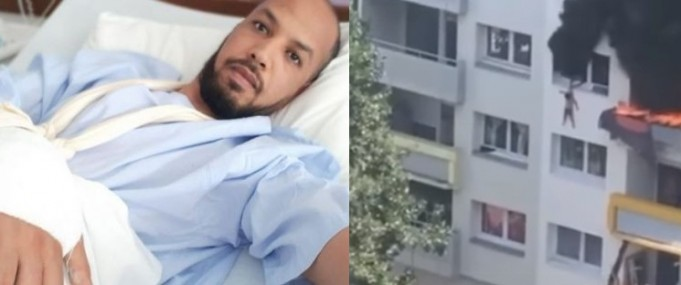 Moroccan Man Mouhsine Sbiti Rescues Children from Burning Building in France