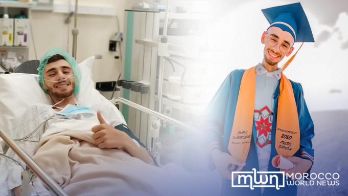 Moroccan Smail Hammiche Earns Baccalaureate While Battling Cancer