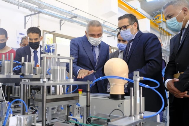 Moroccan Team Invents 100% Made in Morocco Face Mask Production Machine