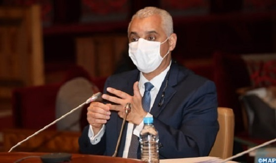 Morocco's Minister of Health; COVID-19 Offers No Deadline