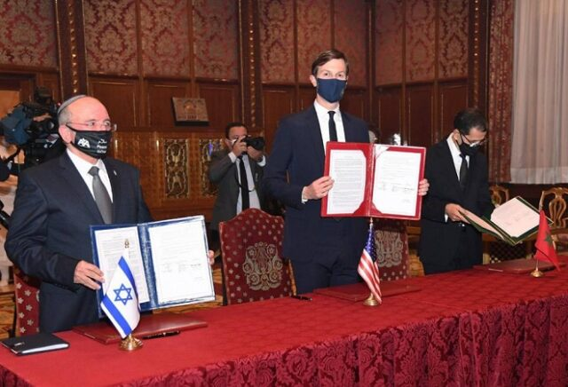 Morocco, Israel Sign First Agreement to Open Direct Flights